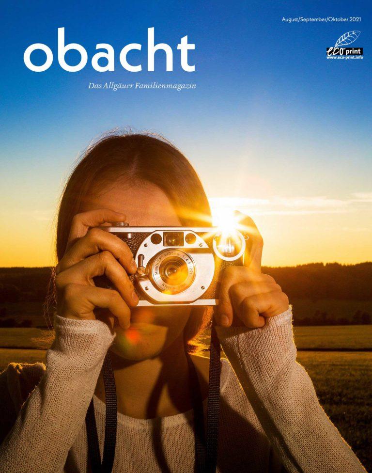 Obacht Ausgabe August-Oktober 2021